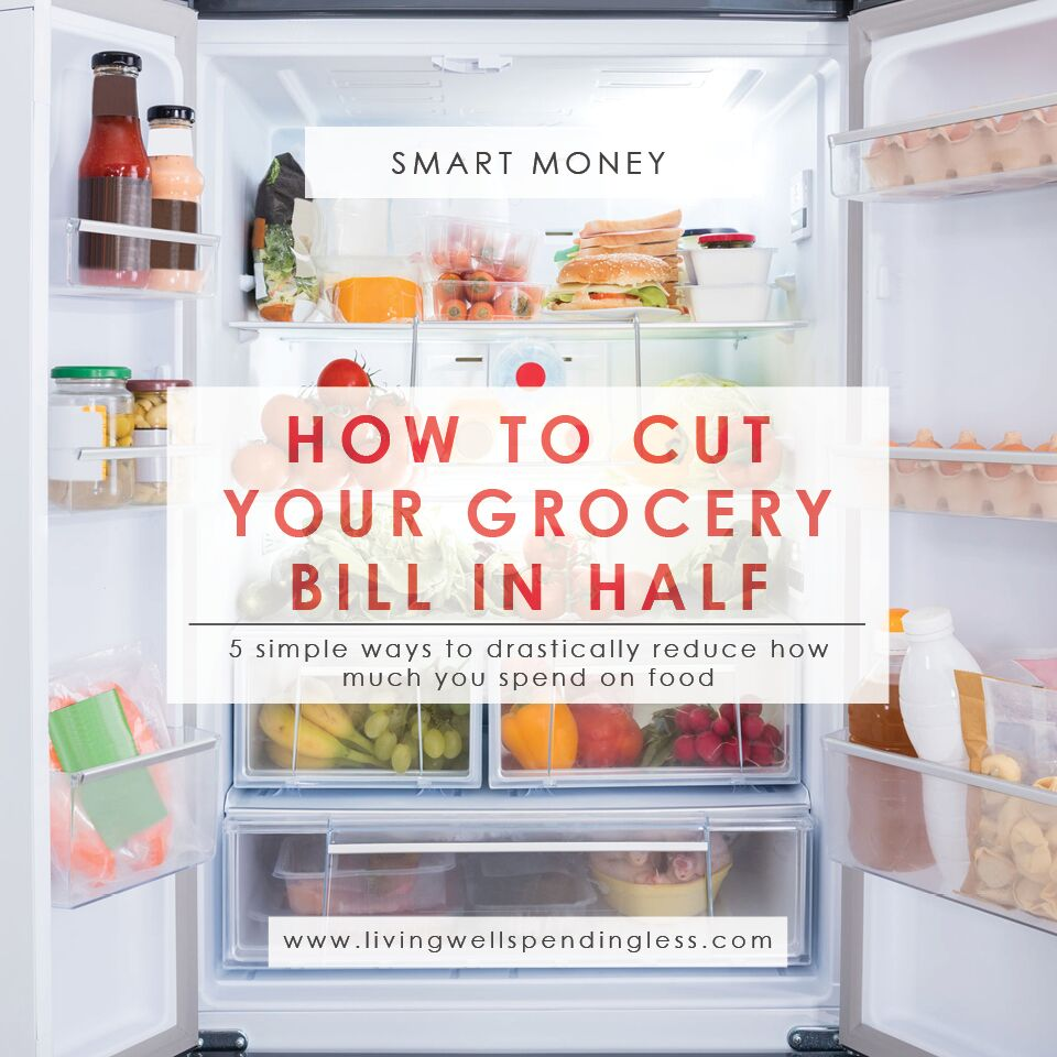 How to Cut Your Grocery Bill in Half | Living Well Spending Less®