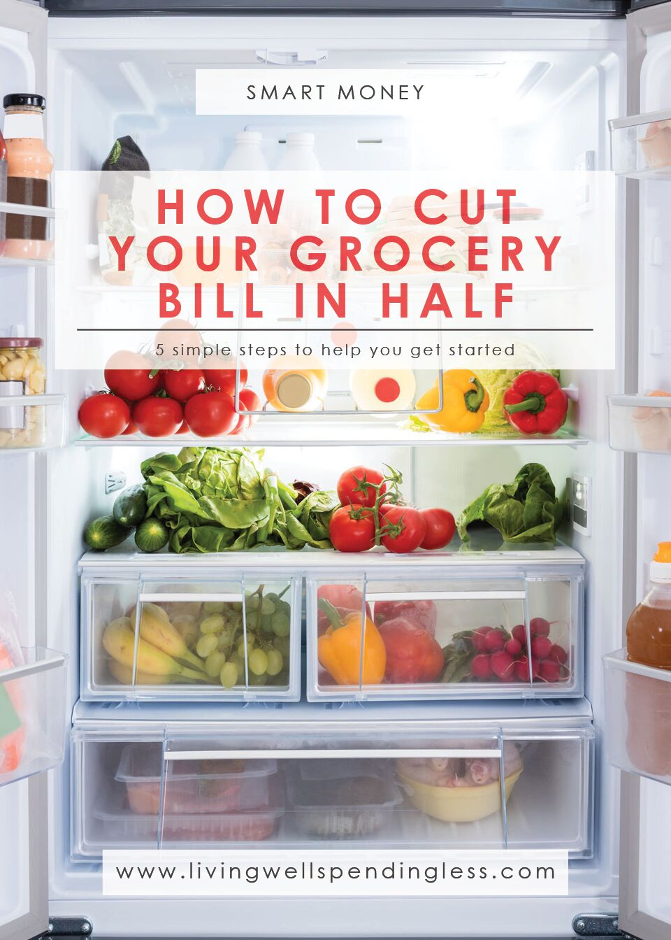 How to Cut Your Grocery Bill in Half: 8 Simple Steps to Help You Get Started