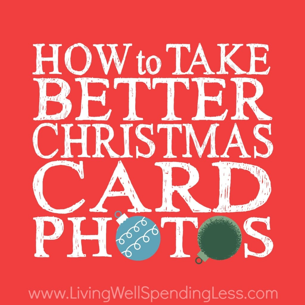 How to take better christmas card photos square
