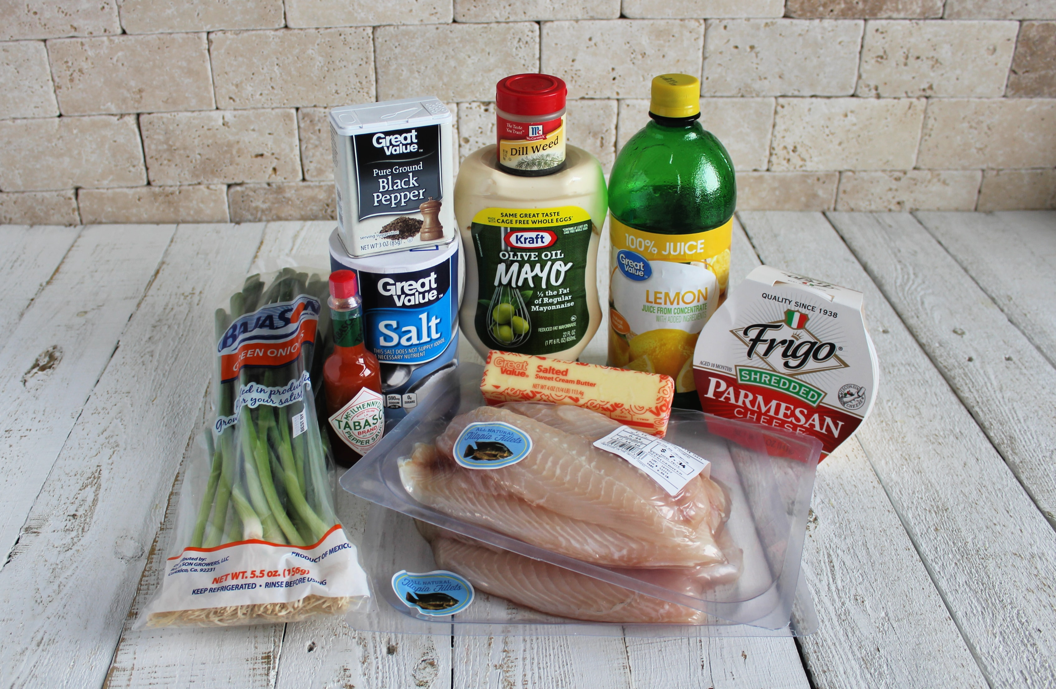 Just a few ingredients are needed to throw together this delicious fish dinner!