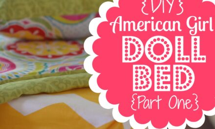 DIY American Girl Doll Bed, Part 1