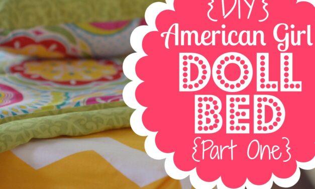 DIY American Girl Doll Bed, Part 1