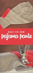 Are you ready to sew some adorable PJ pants for your whole family? This step-by-step tutorial shows you how to make easy-to-sew pajama pants in any size.