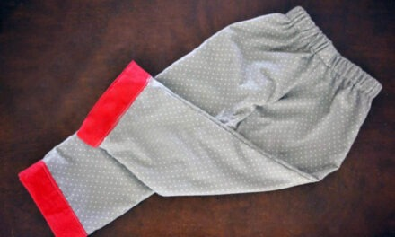 Easy-to-Sew Pajama Pants