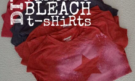 Vintage Freezer Paper Bleach T-Shirts
