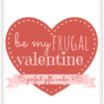 Be my {frugal} valentine--15 awesome Valentine's Day gifts for under $15! #Valentine #Gift #ideas
