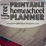 Homeschooling Tips | Homeschooling Hacks | Homeschool | Printable Planner | Study Plans | Study Tips | Ehducation | Child Learning | Printables | GomeSchooling Resources