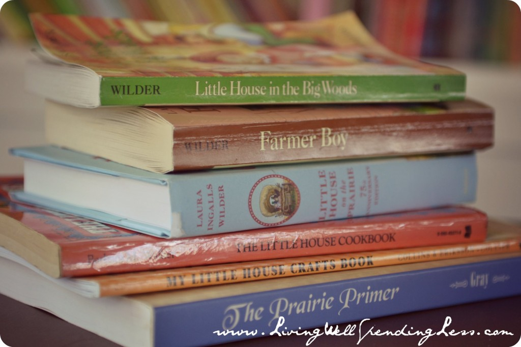 Classic books like Little House on the Prairie are great homeschooling reads.