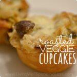 Roasted Veggie Cupcakes