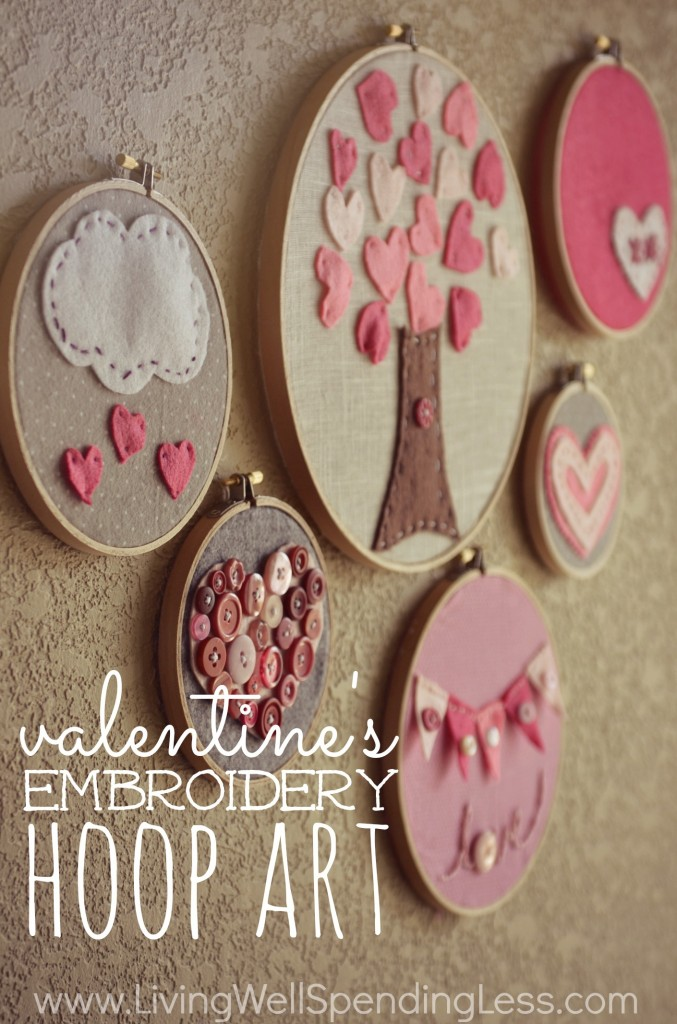 Valentine's Day Wall Hangings