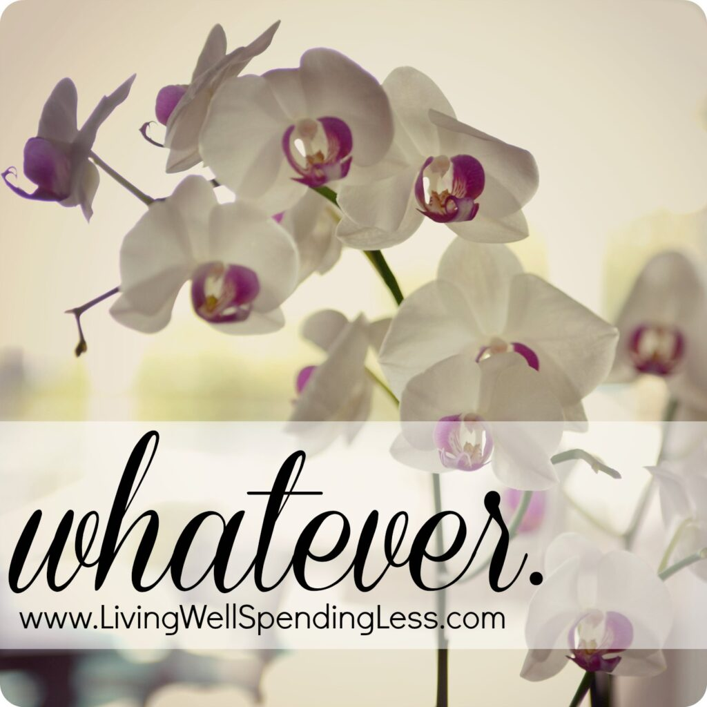 Whatever | Goal Setting | Spiritual Life | Faith | Life Inspirations