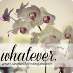 Whatever {thoughts on letting go of the reins & letting God take control} #inspiration #prayer
