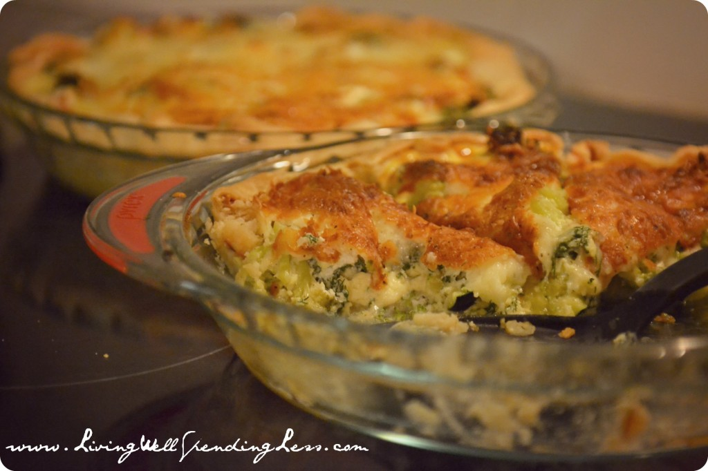 Casseroles are easy to cook and freeze great.