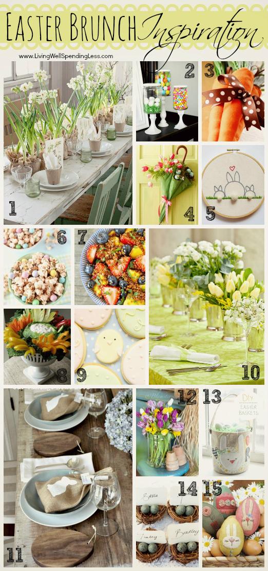 Easter Brunch Inspiration | Easter Brunch Recipes | Easter Menu Tips | Brunch Ideas
