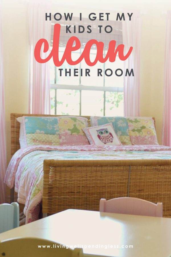 Are you sick and tired of fighting with your kids to clean their room? Here are some tried & true strategies to get your kids to do their chores.