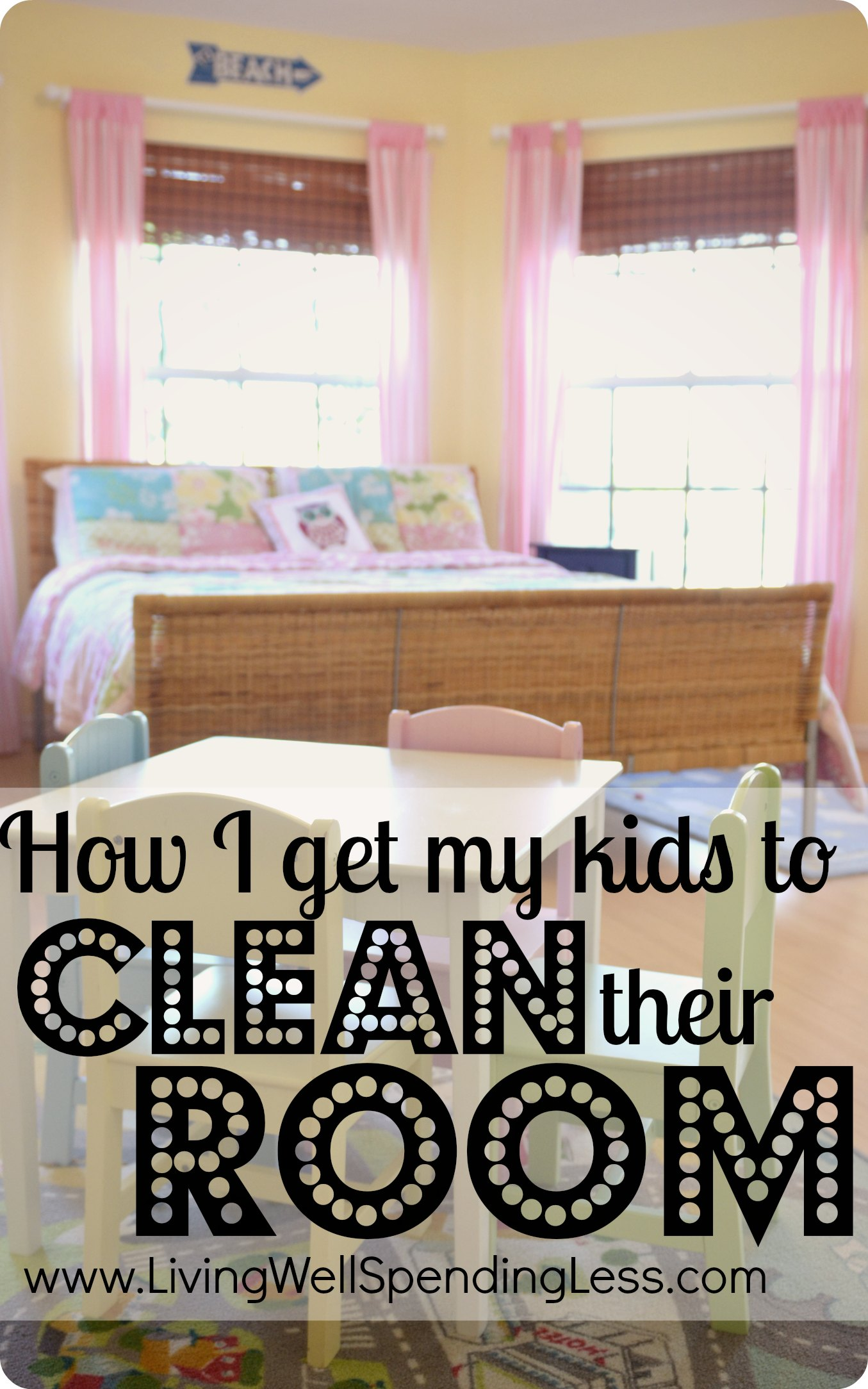 How I Get My Kids To Clean Their Room | Tips For Getting Kids To Clean