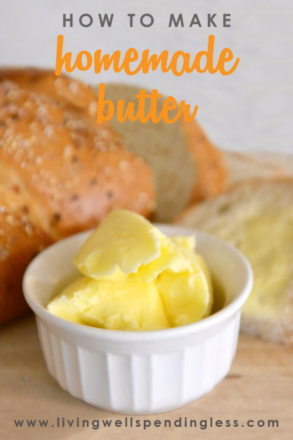 How To Make Homemade Butter Make Butter In A Stand Mixer