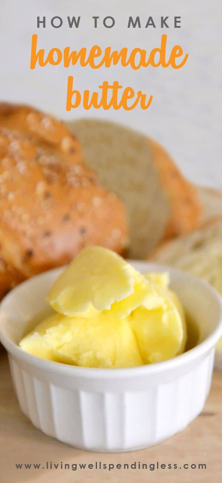 How to Make Homemade Butter   DIY Butter   Homemade Butter Recipe   How to Make Butter   Butter