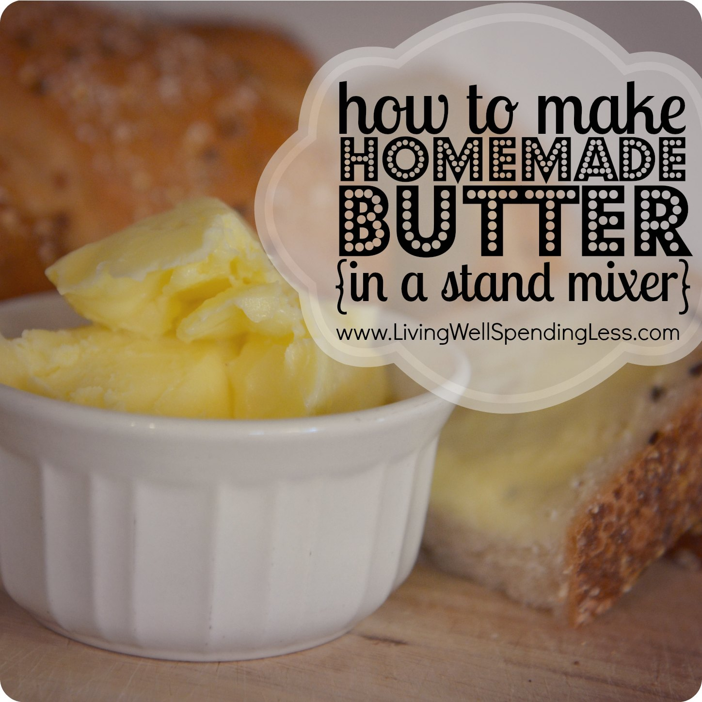 How To Make Homemade Butter Recipe — Dishmaps