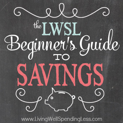 The Beginner's Guide to Savings: Week Eight