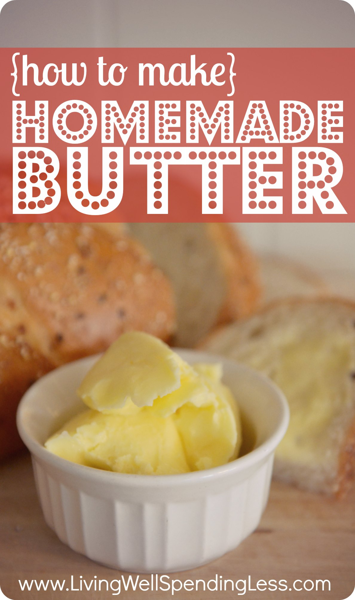 how to make homemade butter-super easy instructions for ...