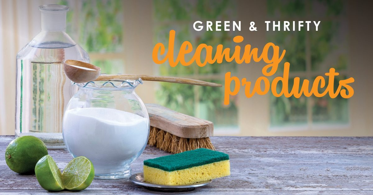Green & Thrifty Cleaning Products | DIY Cleaning Supplies