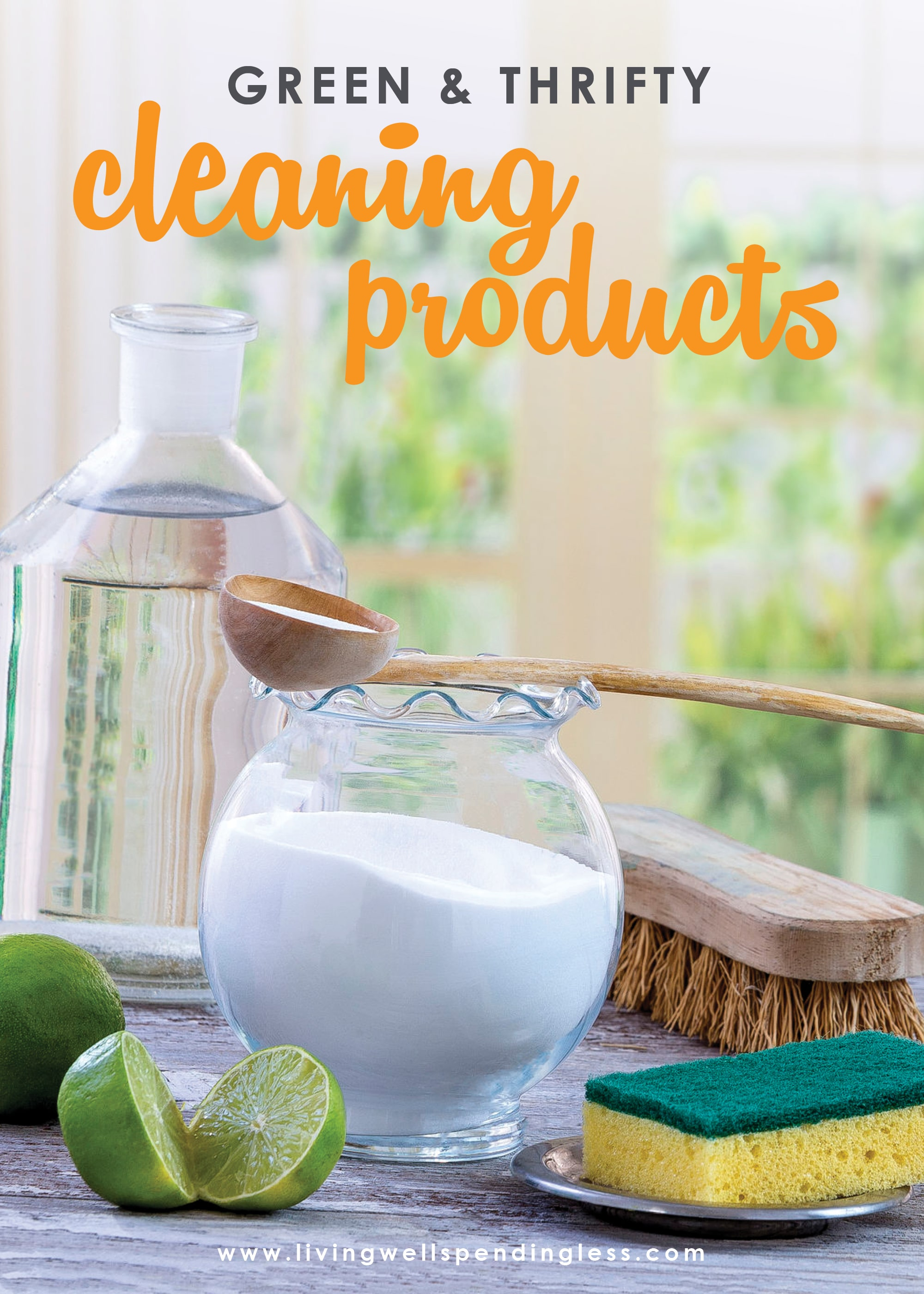 Did you know just 10 pantry staples combined 10 different ways can create 10 awesome homemade cleaners that will clean almost every surface in your house? Better yet? You probably even have most of them already on hand! There's even a cute cheat sheet to print out for your laundry room!