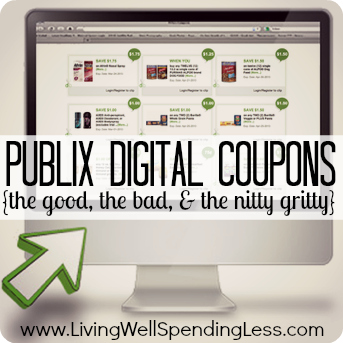 Publix Digital Coupons: The Good, The Bad, & The Nitty Gritty