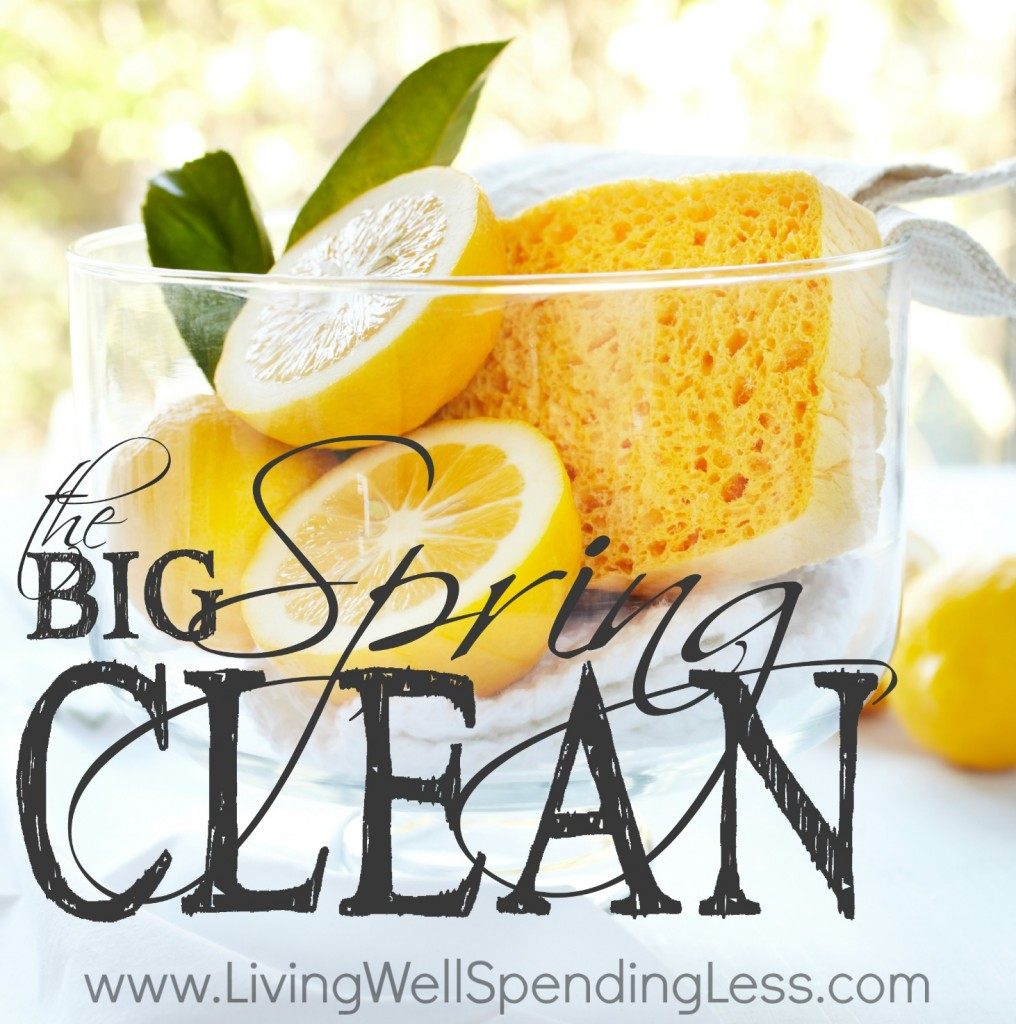 DIY Cleaning Products Living Well Spending Less - Bathroom cleaning tips vinegar