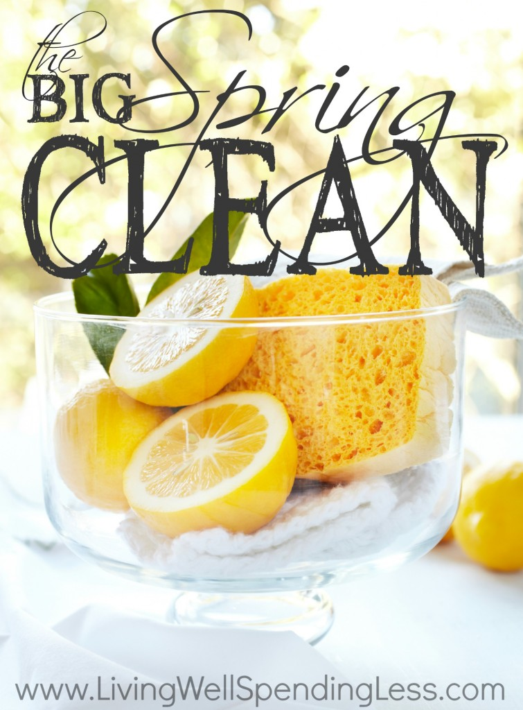 How to deep clean your kitchen as part of your big spring clean.