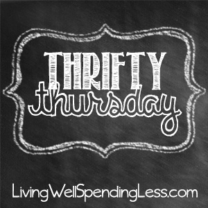 Thrifty Thursday {Week 24}