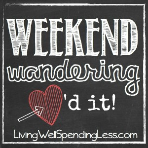 Weekend Wandering | Weekend Planning | Weekend Meal Choices | Heath Bar Energy Balls | Free Summer Reading Programs | Frog Free Yard | Raspberry Jelly Donuts | DIY Bed Canopy | Homemade Refried Beans | Fantasy Freeze Pie | Simple Delicious Slow Cooker Pork Tenderloin | Shopping for Real Food Tips Checklist