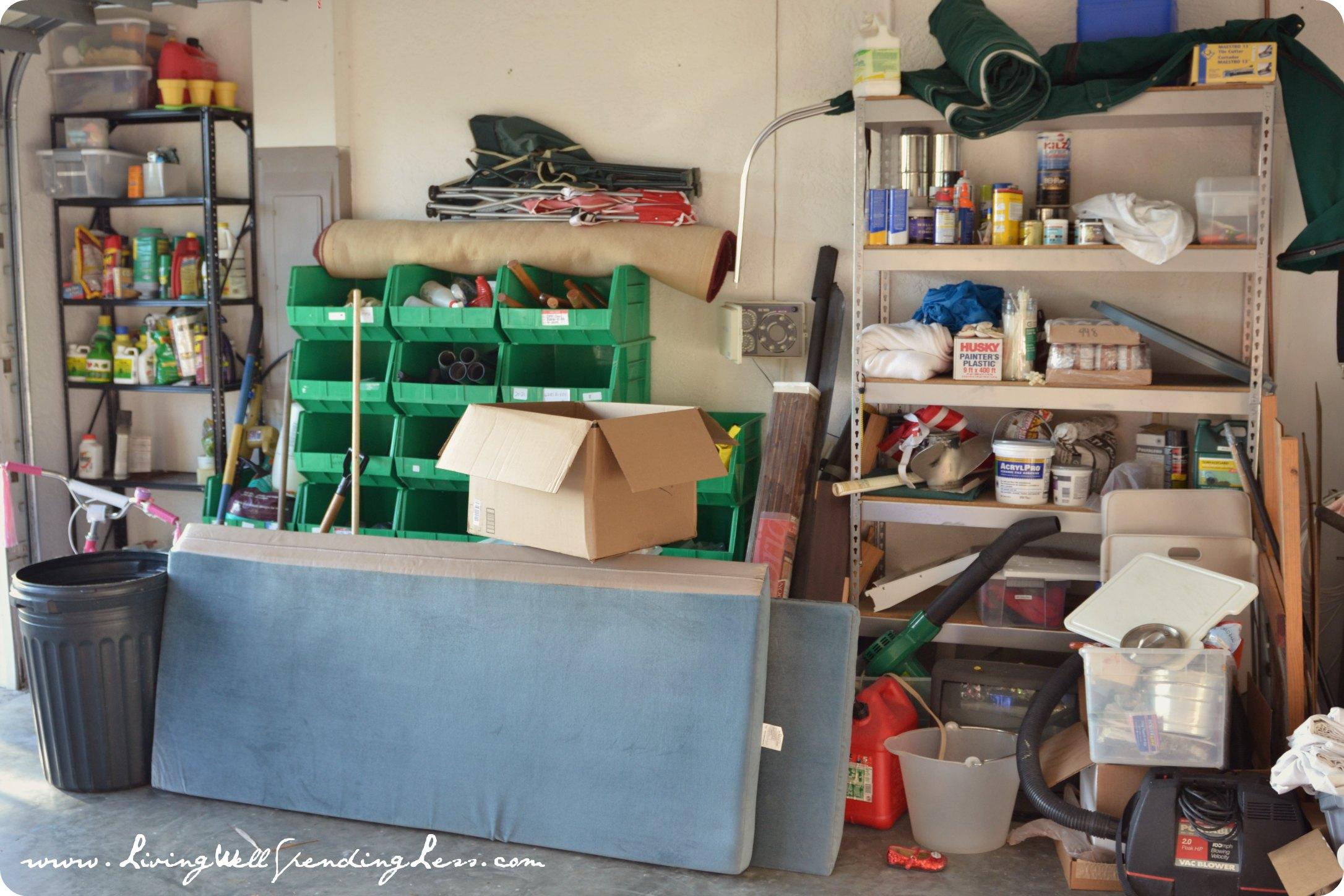 Even More Garage Clutter Living Well Spending Less