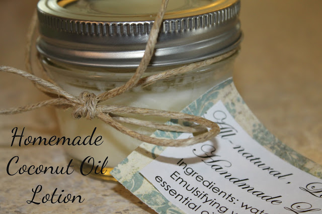 homemadecoconutoillotion