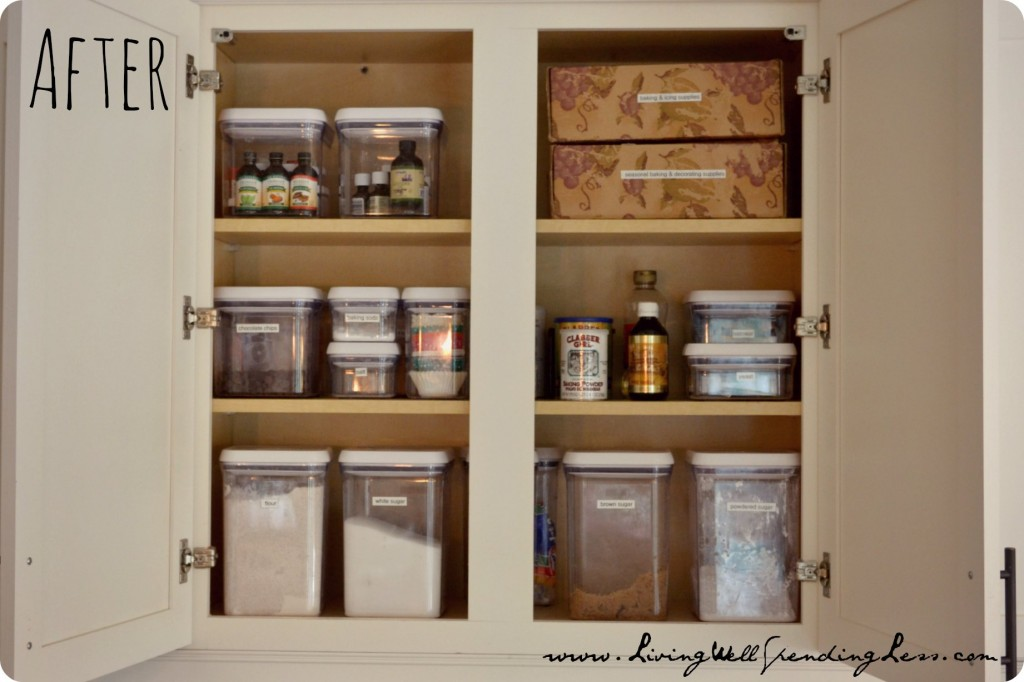 How to organize kitchen cabinets casual cottage Organizing kitchen cabinets