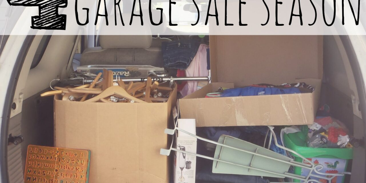 4 Ways to Prepare for Garage Sale Season