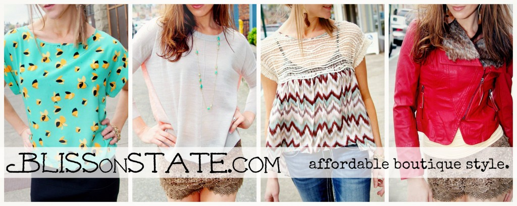 BlissOnState.com {affordable boutique style}