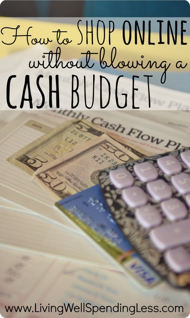 credit how to shop online without blowing a cash budget