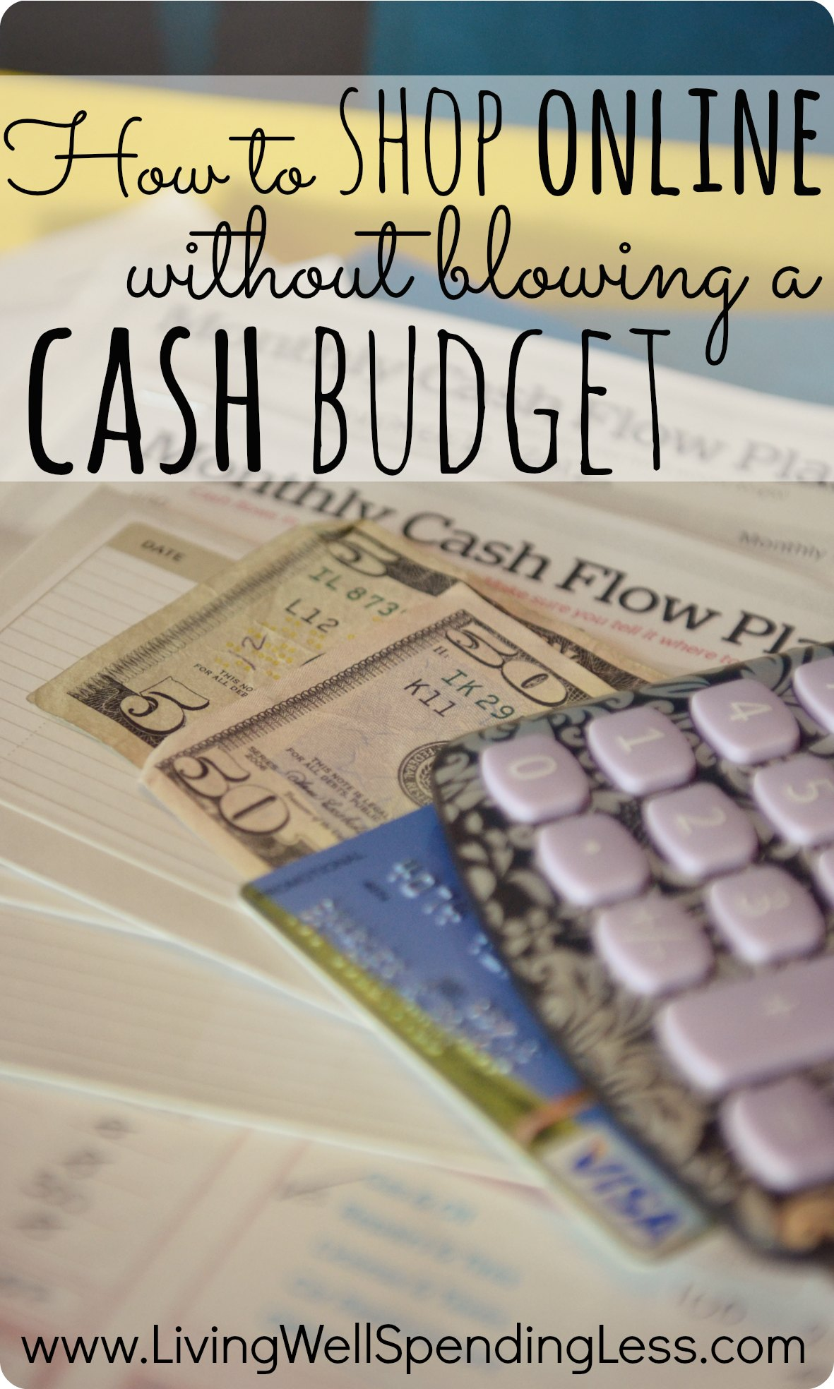 Cash vs credit how to shop online without blowing a cash budget living well spending less - Shopping cash card paying spending ...