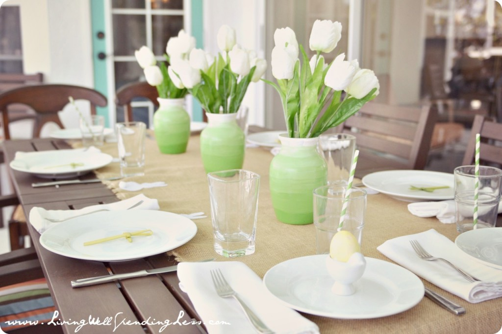 Simple Easter Birthday Brunch - Living Well Spending Less®