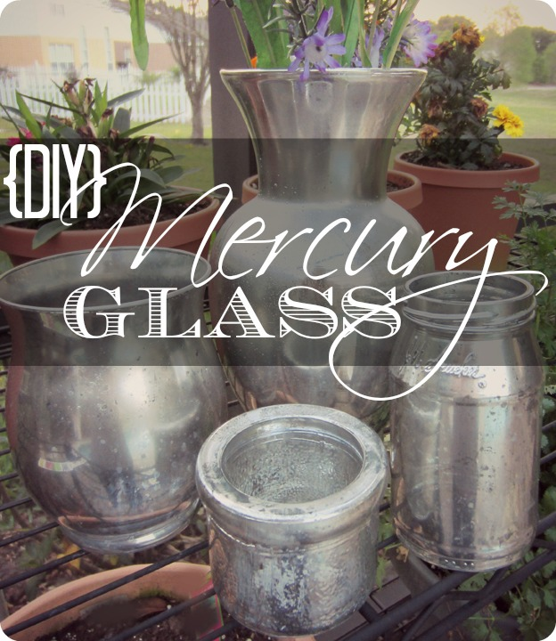how to make mercury glass mercury glass diy mercury glass crafts how - How To Make Mercury Glass