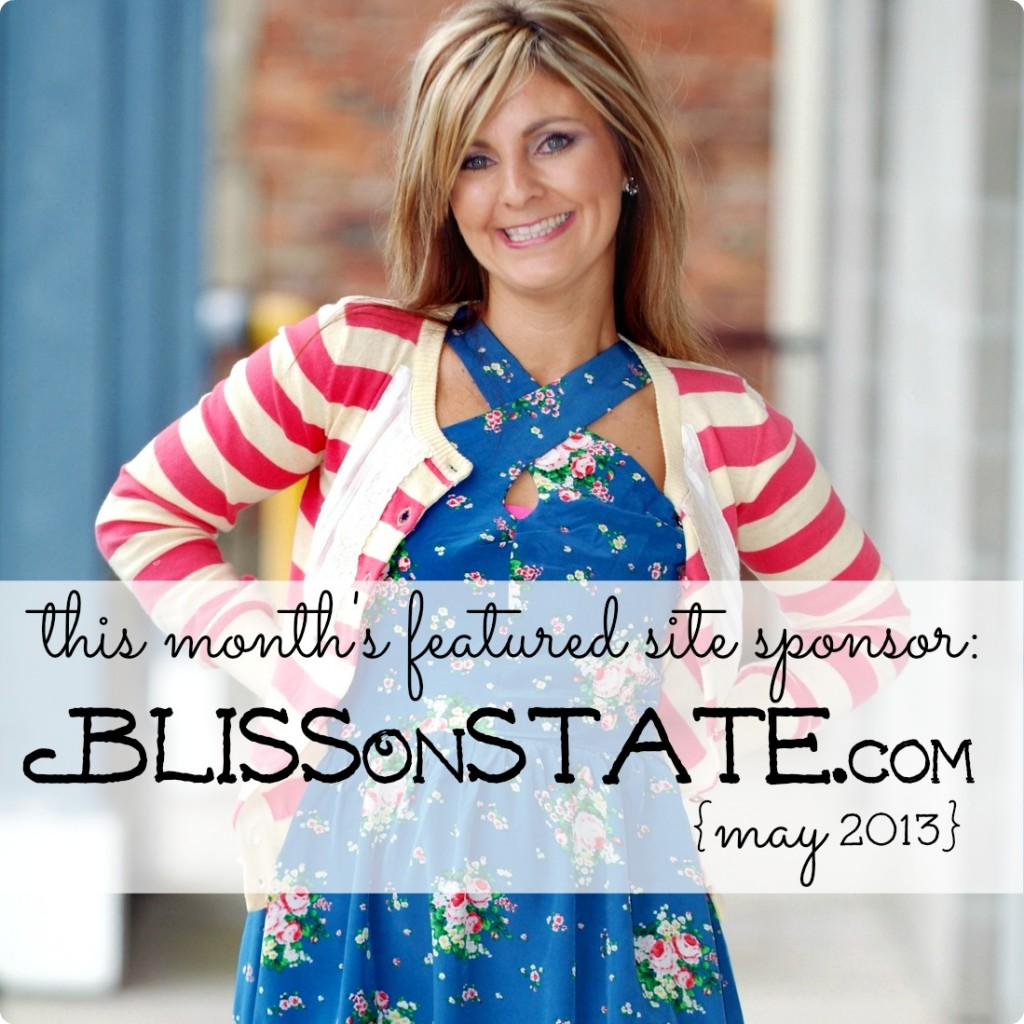 this month's featured site sponsor--BlissOnState.com
