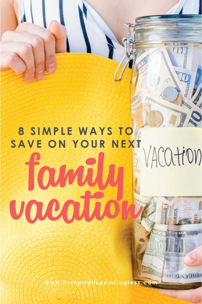 Are you planning a family vacation? Don't bust your budget with vacation planning - here are 8 smart money tips on how to save on family vacation plans. Follow these great tips and enjoy a fun family vacation without the stress of breaking your budget!