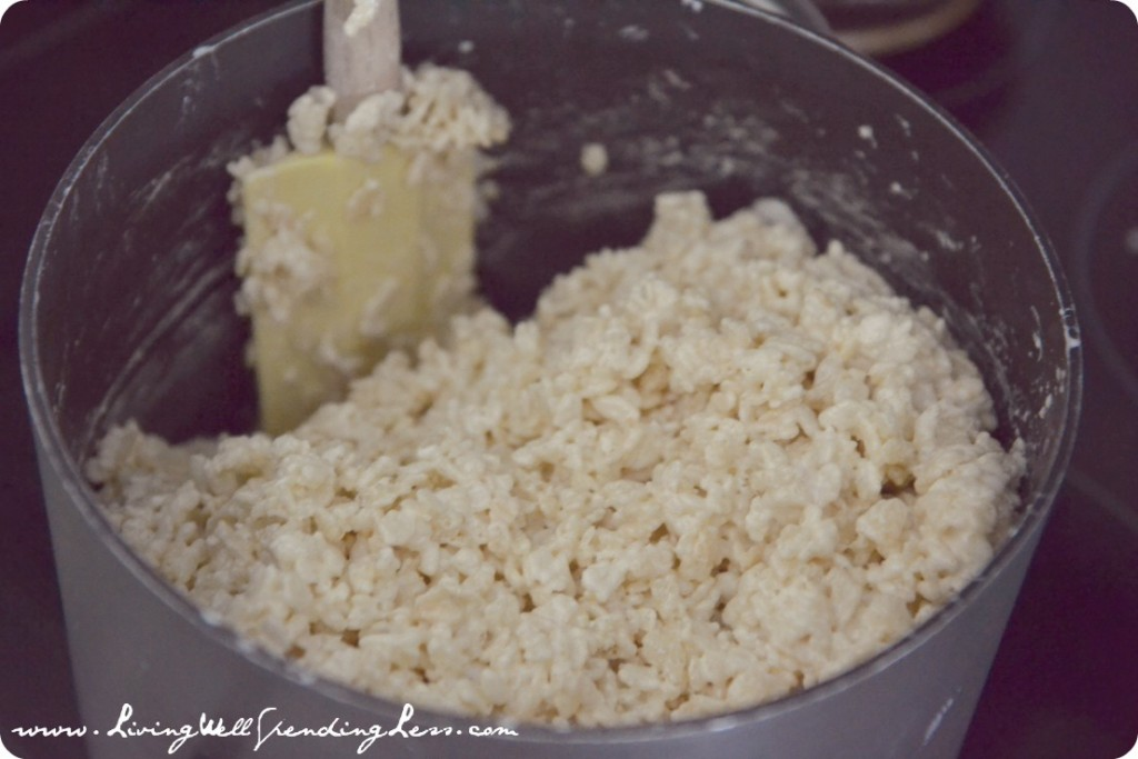 Recipe: White Chocolate Rice Crispy Treats