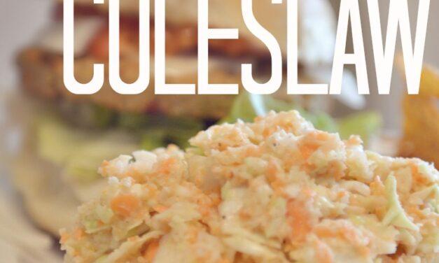 Sweet & Spicy Coleslaw