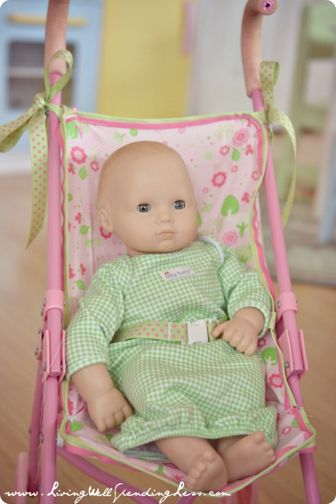 DiY Replacement Doll Stroller Seat