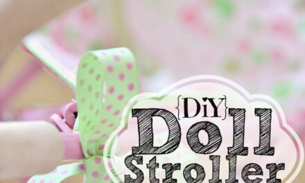 DIY Doll Stroller Replacement Seat