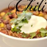 Easy Corn & Black Bean Chili | Corn & Black Bean Chili Recipes | Black Bean Recipes | Chili Recipes