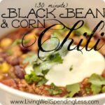 Easy Corn & Black Bean Chili | Corn & Black Bean Chili Recipes | Black Bean Recipes | Chili Recipes