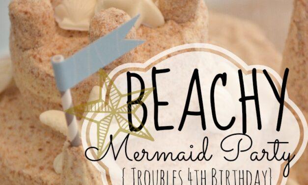 Beachy Mermaid Party